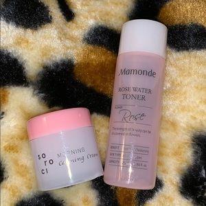 🆕 Skincare duo -Soroci Cream & Mamonde Rose Water